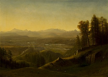 Jackson Hole Art Auction Albert Bierstadt Wind River
