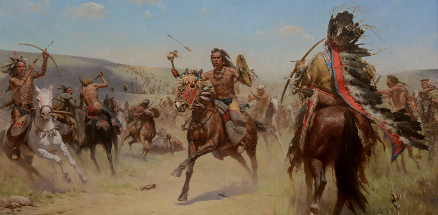 Z.S. Liang, The Holy Rattle (Elkwater Lake Battle, 1864)